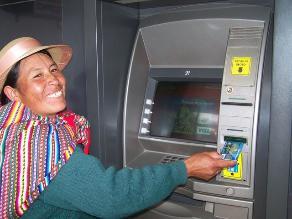 Número de cajeros automáticos creció 28% el 2012