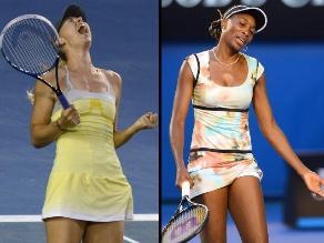 FOTOS: Maria Sharapova desplazó a Venus Williams del Abierto de Australia