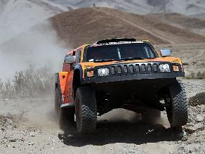 Robby Gordon gana penúltima etapa de automóviles del Rally Dakar