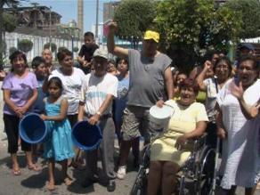 Arequipa: 130 mil usuarios no cuentan con el servicio de agua potable