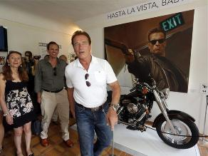 Santoro revela que en escenas con Schwarzenegger, ´Terminator´ lo cubría