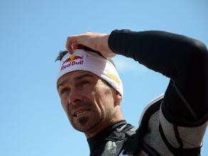 Cyril Despres se mostró muy contento tras ganar el Rally Dakar