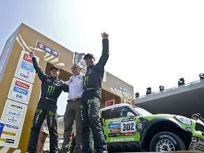 Francés Stéphane Peterhansel ganó undécimo título del Rally Dakar