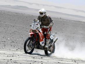 Felipe Ríos es el primer peruano en terminar el Dakar en el puesto 28