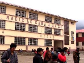 Junín: Último recorrido por aulas y pasillos del colegio Santa Isabel
