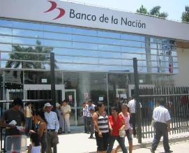 Atención al público fue normal en Banco de la Nación de Chiclayo