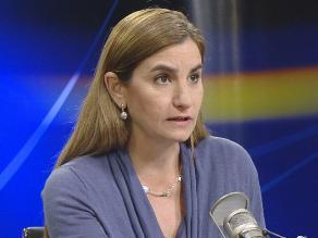 Anel Townsend afirma que el APRA no tumbará a Villarán