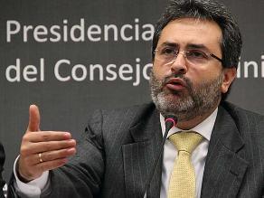 Jiménez sobre Espinoza: Es una persona honesta de altas cualidades