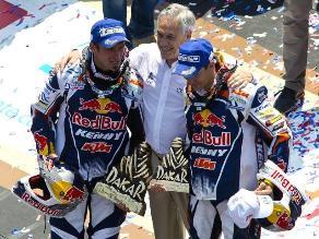 Cyril Despres: Cuando esté en mi sofá entenderé qué es ganar cinco Dakar