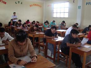 San Martín: Más de 4 mil docentes rindieron prueba para contrato docente