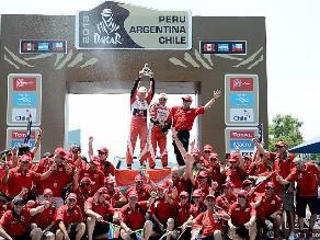 Las mejores imágenes de la fiesta de clausura del Rally Dakar 2013