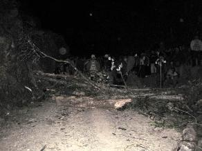 Lambayeque: Pobladores realizan protestas en Cañaris