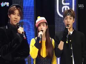 Presentaciones del Inkigayo del 20 de enero
