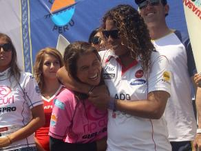 FOTOS: Lo mejor del duelo Sofía Mulanovich - Analí Gómez en Punta Rocas