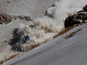 La mejor fotografía del Dakar 2013 se capturó en el desierto peruano