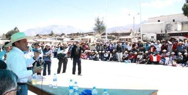 Arequipa: Hundimientos continúan en distrito de Maca