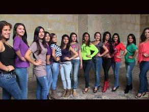 Cajamarca: Estas son las candidatas a la corona Señorita Carnaval 2013