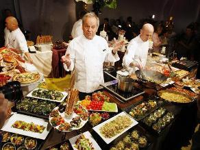 Preparativos para la gran cena de los premios Óscar