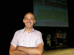 Christian Ysla presentó ´De la calle a la plazuela´