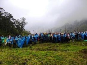 Lambayeque: Comuneros protestan en el centro de Cañaris