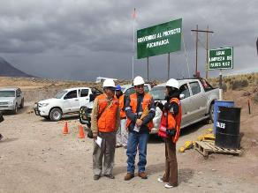 Tacna: Piden realizar monitoreo ambiental del proyecto minero Pucamarca