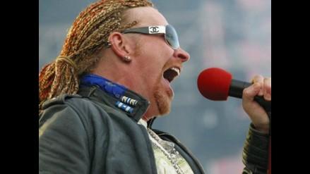 Axl Rose rechazó 50 mil dólares para dejar Guns N´ Roses