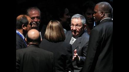 Presidente de Cuba expresó dolor en tributo a Hugo Chávez