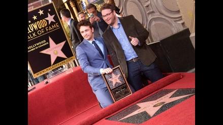James Franco recibió una estrella en el Paseo de la Fama