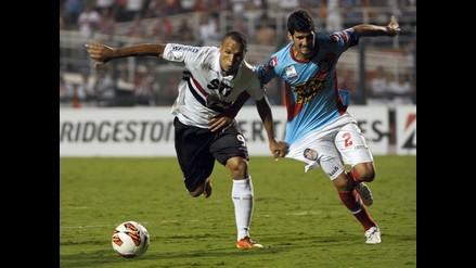 Sao Paulo igualó de local 1-1 con Arsenal de Sarandí en la Libertadores