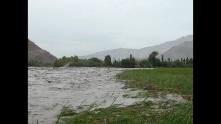 Virú: Río Santa arrasa 5 hectáreas de cultivo en Guadalupito
