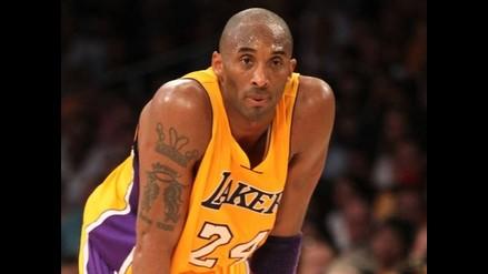 Kobe Bryant anotó 42 puntos en victoria de Lakers ante los Hornets