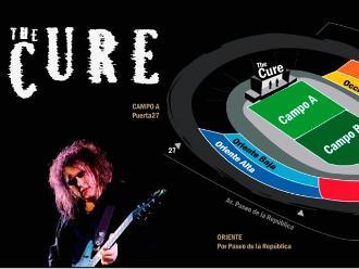 The Cure en Lima: conozca las puertas de ingreso al concierto