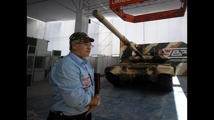 Todo listo para gran exhibición de tecnologías para la Defensa