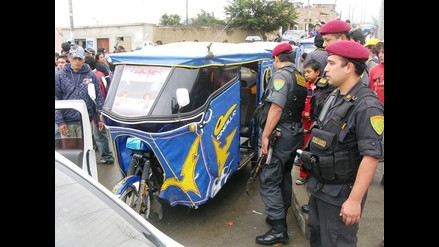 Cajamarca: Mototaxista sufre ataque de epilepsia y causa accidente
