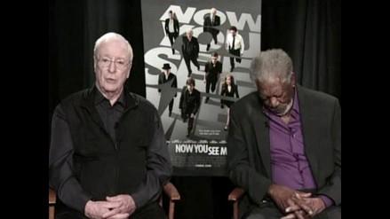Morgan Freeman se quedó dormido durante entrevista
