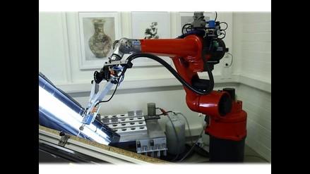 VIDEO: Crean robot que pinta como un profesional