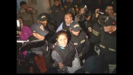 Nancy Obregón fue ingresada a penal de Mujeres Anexo 1 de Chorrillos