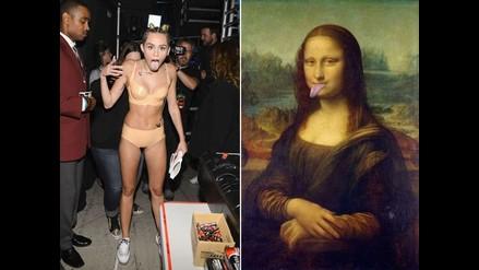 La lengua de Miley Cyrus también es tema de los más divertidos memes