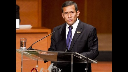 Humala: Esperamos que los líderes políticos asistan al diálogo