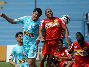 Incidencias del Sporting Cristal vs. Huancayo por el Descentralizado