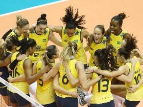 Brasil arrolló a China y se coronó campeón del Grand Prix de voleibol