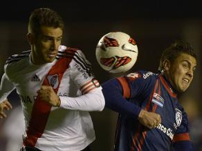 River Plate perdió ante San Lorenzo y la pasa mal en la Liga argentina