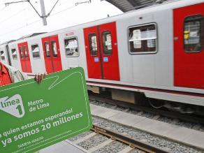 Tramo 2 del Metro de Lima estará listo en abril de 2014
