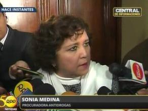 Procuradora Medina dice que serían más de siete los ´narcocongresistas´
