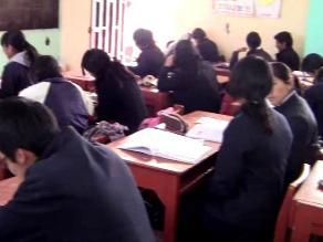 Pisco: Se reiniciaron las clases escolares con el 75 % de asistencia