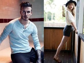 ¿Taylor Swift y David Beckham juntos en el cine?