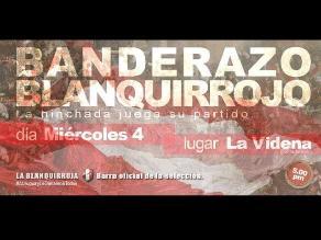 Barra oficial de la selección peruana convoca a