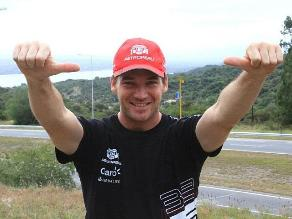 Nicolás Fuchs se inscribió a última hora en Caminos del Inca 2013