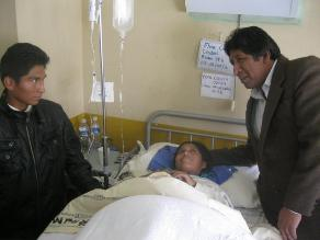 Bagua: Extirpan tumor de 5 kilos a mujer que creyó estar embarazada