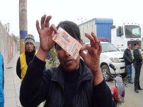 Chiclayo: Indecopi inicia proceso sancionador por entradas Perú- Uruguay